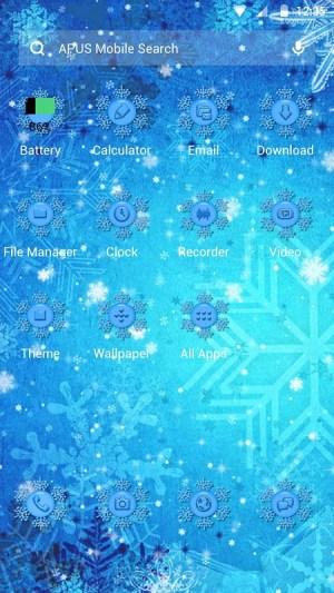 Frozen Theme 1 Screen 1