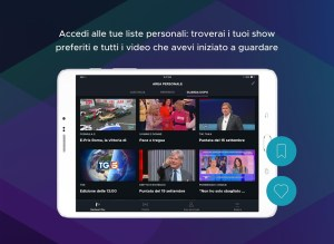Mediaset Play 5.3.4 Screen 1