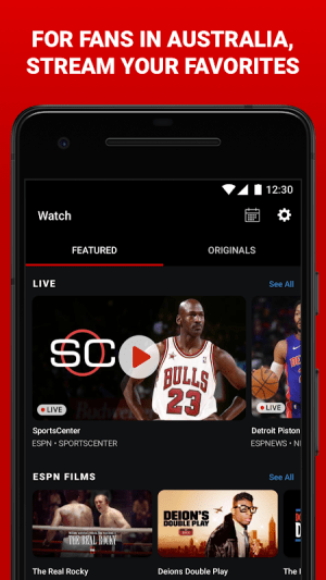 Android ESPN Screen 5