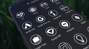 Monoic Icon Pack: White, Monotone, Minimalistic 6.8.8 Screen 5