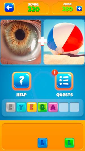 2 Pictures 1 Word - Offline Games 1.0.18 Screen 5