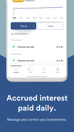 Iban Wallet: Invest and Grow 1.36.2 Screen 2