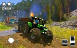 Android Cargo Tractor Trolley Simulator Farming Game 2020 Screen 2