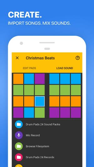 Drum Pads 24 - Music Maker 3.5.0 Screen 1