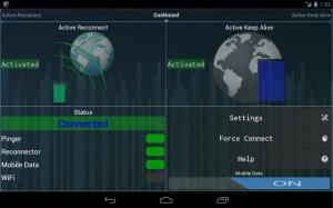 Connection Stabilizer Booster 1.2.2 Screen 2