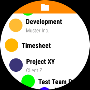 Timesheet - Time Tracker v2.7.6 Screen 3