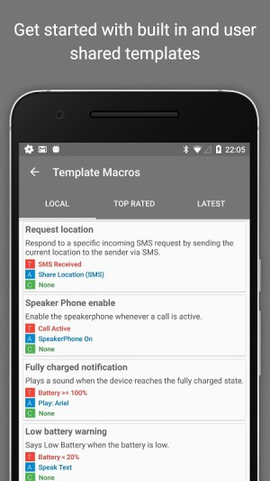 MacroDroid - Device Automation 4.9.6.1 Screen 6