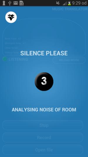 Music Translator (Recognition) 2.0 Screen 5