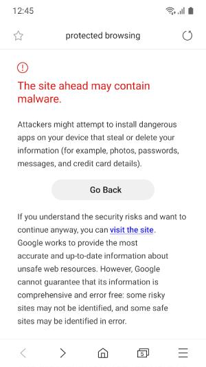 Samsung Internet Browser Beta 9.2.00.19 Screen 7