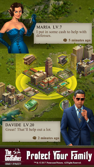 The Godfather: Family Dynasty 1.86 Screen 4