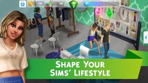 Android The Sims™ Mobile Screen 2