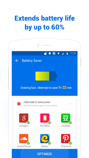 Clean Master Lite - For Low-End Phones 3.1.7 Screen 4