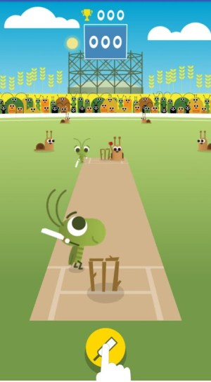 Android Doodle Cricket - Cricket Game Screen 2