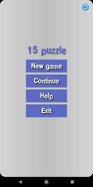 New 15 PUZZLE - 3 Farklı level 4.0 Screen 1