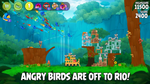 Android Angry Birds Rio Screen 10