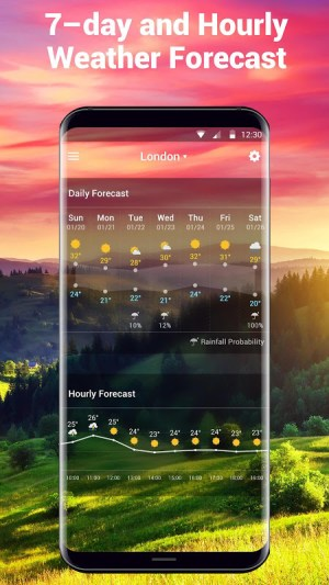Local Weather Report Widget 15.2.0.45033 Screen 1