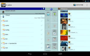 X-plore File Manager 3.90.04 Screen 1