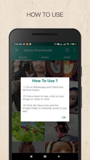 Status Downloader for WhatsApp - Status Saver 1.0 Screen 6