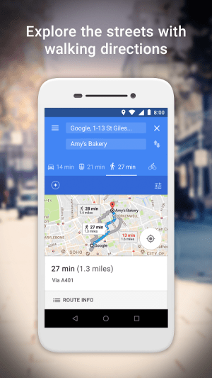 Google Maps Go - Directions, Traffic & Transit 82 Screen 3