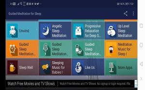 Android Guided Meditation for Sleep - Deep Sleep and Relax Screen 4