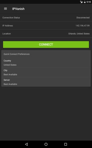 IPVanish VPN 3.0.10.689 Screen 10