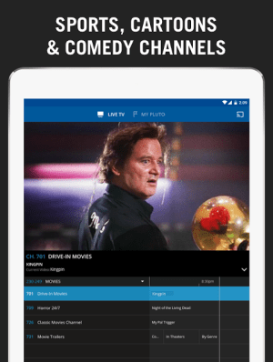 Pluto TV 3.0.1-leanback Screen 8