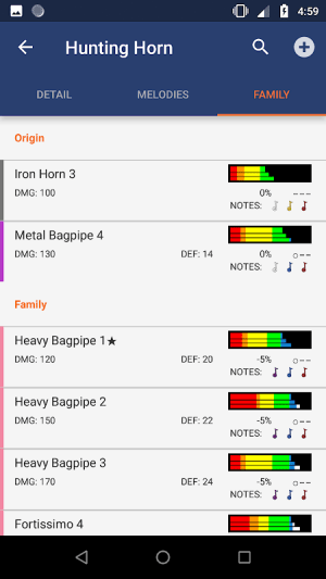 MHGU Database 2.1.1 Screen 7