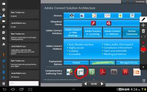 Adobe Connect 2.6.2 Screen 1