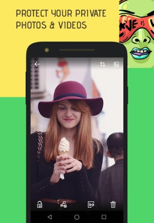 Android Skullock Photo vault: Lock private photos & videos Screen 20