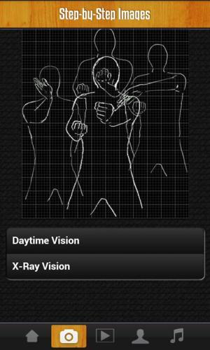 Android Wing Chun Siu Lim Tao Pro Screen 4