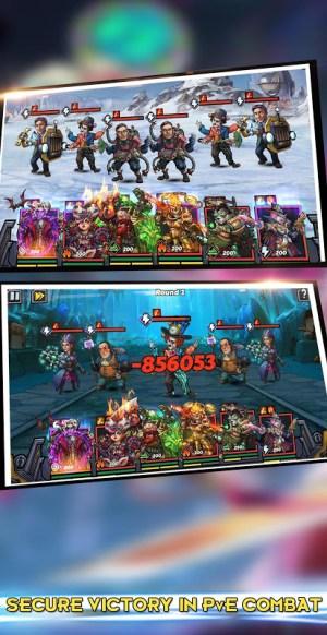 Clone Evolution: RPG Battle-Future Fight Fantasy 1.4.0 Screen 1