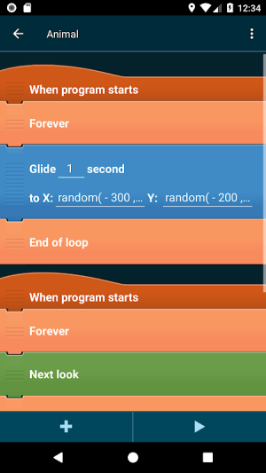 Android Pocket Code: learn programming Screen 6