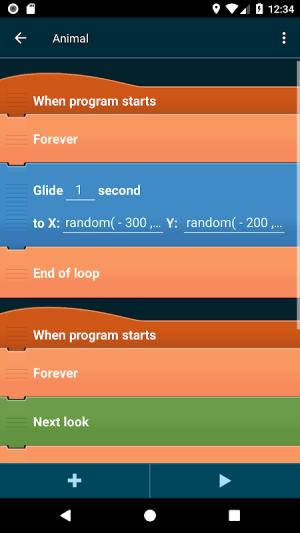 Pocket Code: learn programming 0.9.76 BETA-81 Screen 6