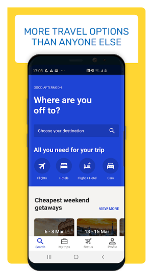 Android eDreams: Book cheap flights and travel deals Screen 5