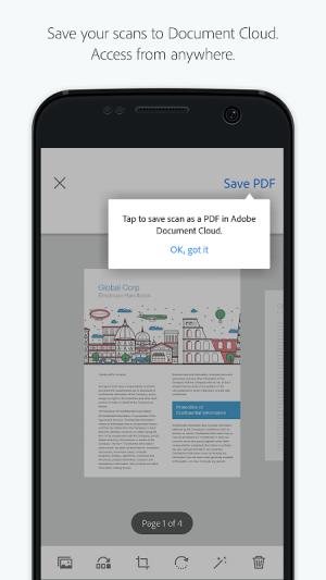 Adobe Scan: PDF Scanner, OCR 18.07.24 Screen 3