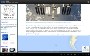 NASA App 1.54 Screen 4