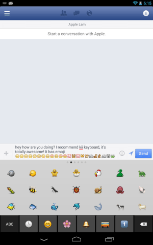 Kii Keyboard + Emoji 1.2.24 Screen 10