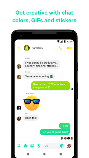 Messenger – Text and Video Chat for Free 252.0.0.10.119 Screen 3