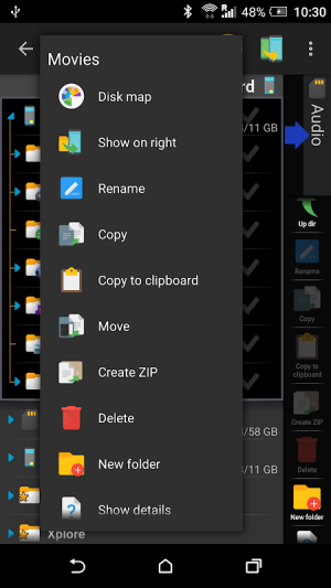 X-plore File Manager 4.17.00 Screen 7