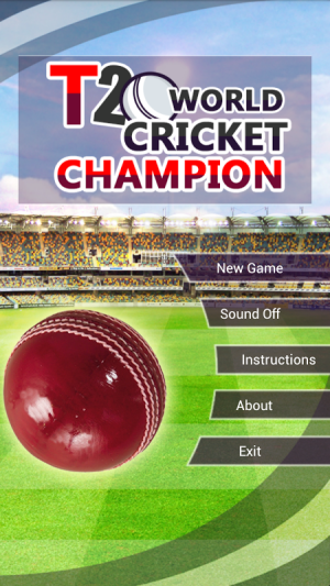 Android T20 WORLD CRICKET CHAMPIONS Screen 2