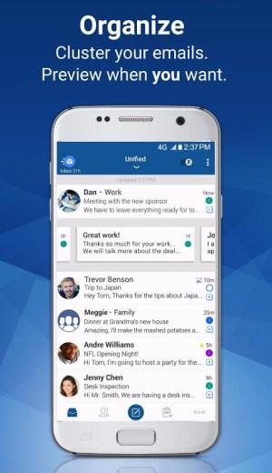 Blue Mail - Email & Calendar - Mailbox 1.9.6.10 Screen 6