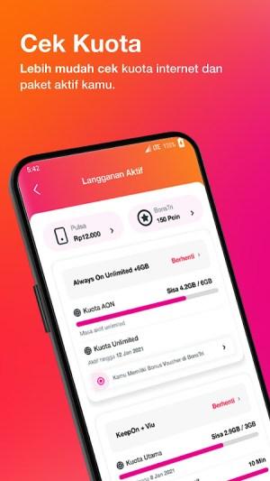Bima+ - Buy & Check Tri Data, Game, and Rewards 4.0.1 Screen 11