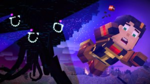 Android Minecraft: Story Mode Screen 1