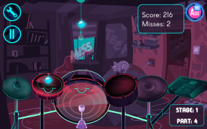 Electronic Drums Game 1.6c Screen 4