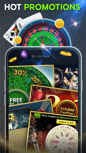 Android 888 Casino: Slots, Live Roulette & Blackjack Games Screen 2