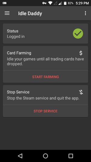 Idle Daddy - Game Idler/Card Farmer for Steam™ 2.0.46 Screen 1