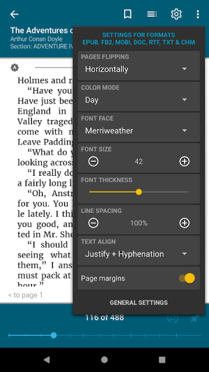 ReadEra - book reader pdf, epub, mobi & pdf viewer 19.03.19+840 Screen 5