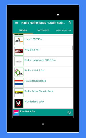 Android Radio Netherlands - Radio Netherlands FM: Radio NL Screen 13