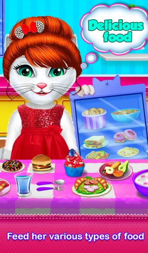 Kitty Daily Activities Game 1.0.1 Screen 2