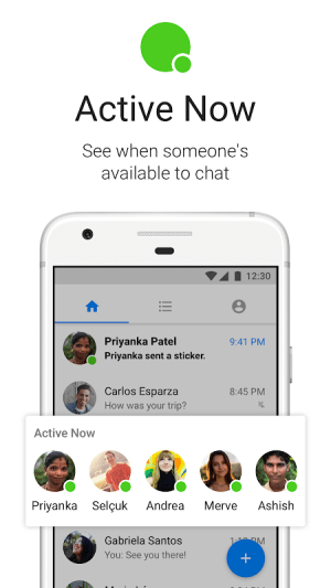 Messenger Lite 75.0.1.21.471 Screen 1